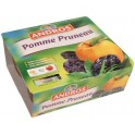 Compote pomme - pruneau Andros 4x100g 400g