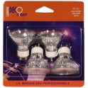 Dichroic Decolight 220V 50W GU10 51mm - lot de 4 ampoules 4U