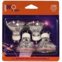 Dichroic Decolight 220V 35W GU10 51mm - lot de 4 ampoules 4U