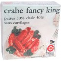 Crabe Fancy King sans cartilages 50%pattes 210g