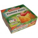 Compote pomme - poire Andros 4x100g 400g